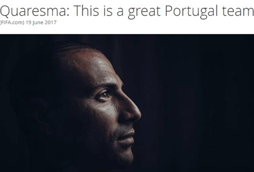 夸雷斯马认为这支葡萄牙凝聚力很强