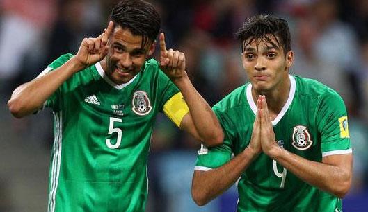 联合会杯-锋线双枪破门 墨西哥2-1送新西兰出局