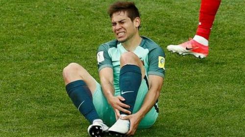 葡萄牙魔翼亲承联合会杯已报销 万幸未遭遇骨折