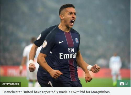 曝曼联6200万镑撬巴黎铁闸 签摩纳哥核心获利好