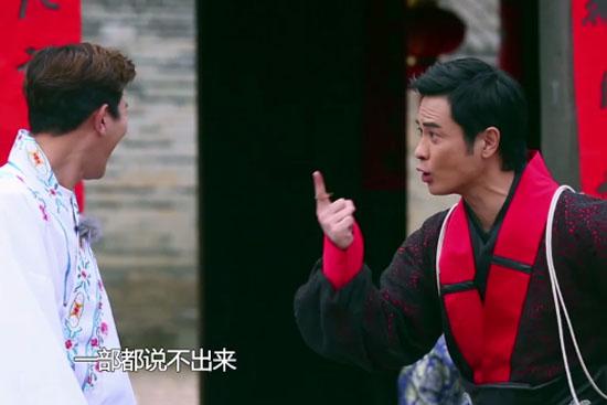 郑嘉颖《好运旅行团》变咆哮帝 演戏20年好失败