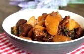 萝卜牛腩煲打开你的胃