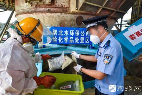 北京警方公开销毁了2014年、2015年收缴的海洛因、冰毒、可卡因等1.4吨。