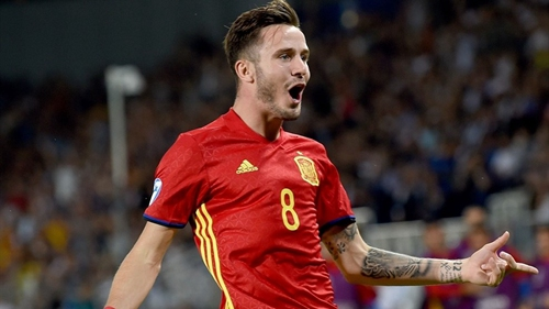 欧青赛-萨乌尔戴帽 西班牙3-1意大利与德国争冠
