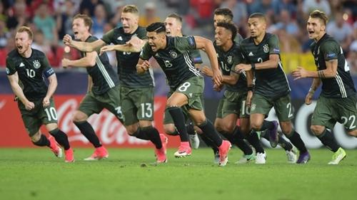 欧青赛-门神扑两点 德国点球大战总分6-5英格兰
