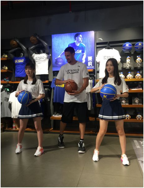 GNZ48 高源婧、郑丹妮与汤普森一起跳篮球舞