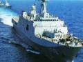 中国海军最新一艘船坞登陆舰下水