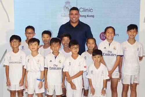 皇马青训营空降上海 优秀球员将获赴西体验机会