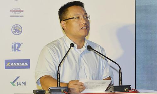 爱驰亿维联合创始人兼CEO 谷峰