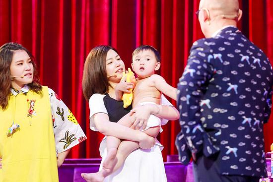 陈妍希加盟《孩子》 帮孟爷爷头戴鸡腿加特效
