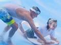《我们相爱吧第三季片花》抢先看 王鸥冲浪被冲跑 明道一把抱住场面好苏