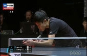 韩国乒乓美女战平老对手!
