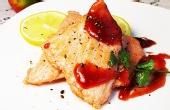 挪威口味的香煎三文鱼