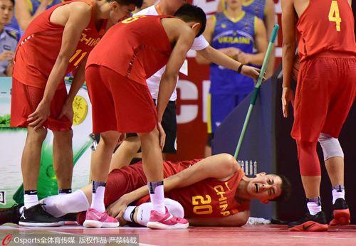 沈梓捷左脚踝韧带撕裂 受伤前刚受红队补调征召