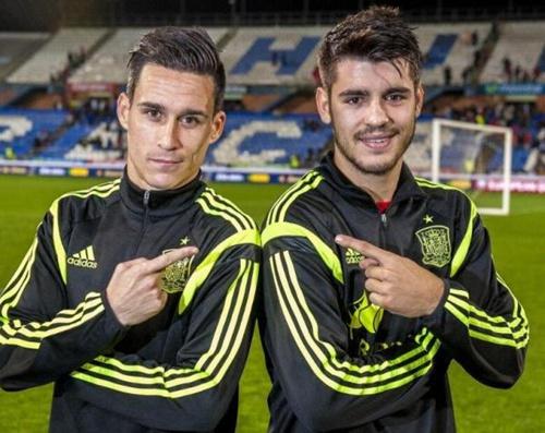 莫拉塔(右)和卡列洪(左)都离开了马德里。