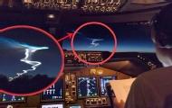 飞行员拍到中国反导测试景象