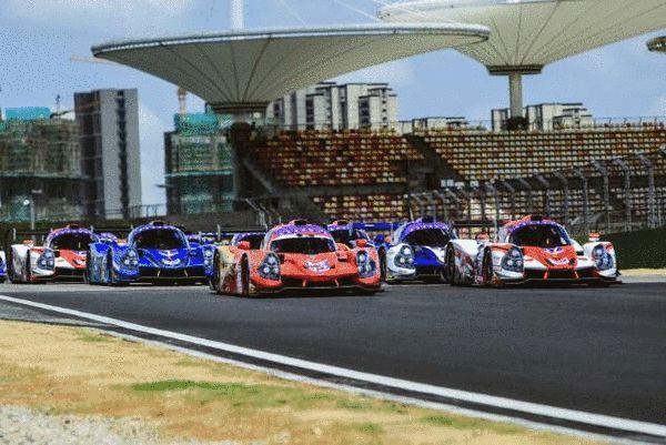 FRD LMP3极速先锋系列赛第二站上海站发车现场
