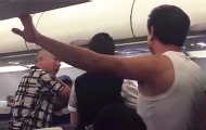 航班滞留拒开空调女乘客中暑