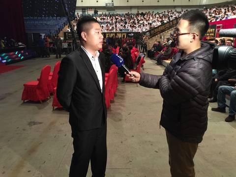 """黑龙江电视台采访""""造梦者传媒""""董事长孟庆松"""