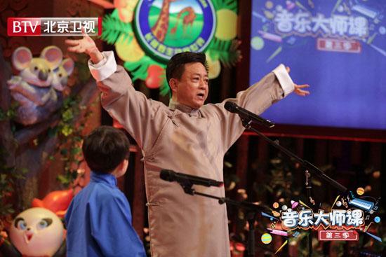 《音乐大师课》迎收官 朱军甘为9岁京娃当捧哏
