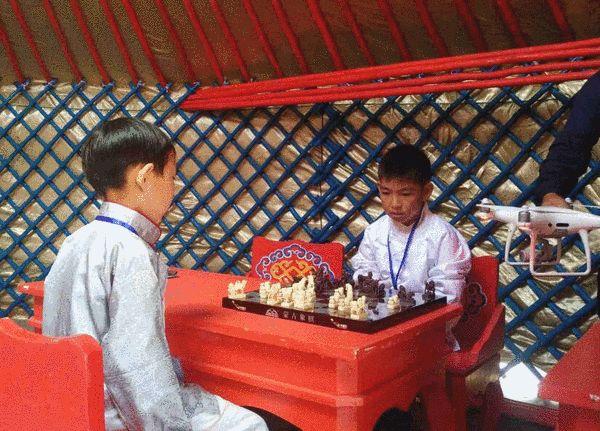 蒙古象棋对弈展示