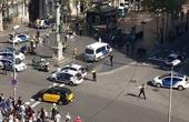 巴塞罗那发生汽车撞人事件