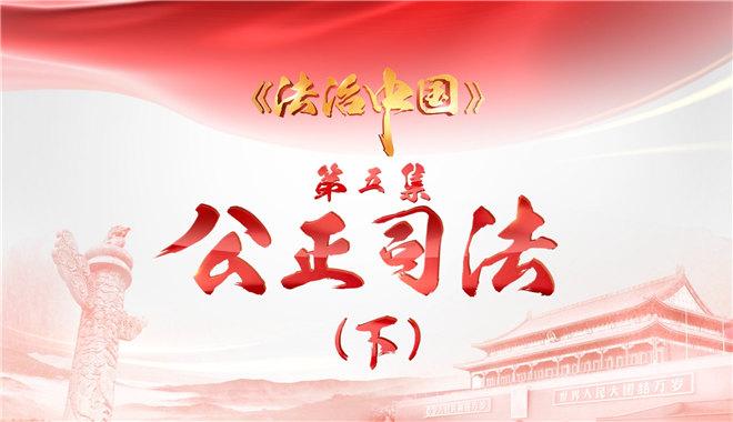 4分鐘速覽《法治中國》第五集《公正司法》(下)