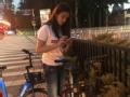 《深圳卫视非常静距离片花》林允单车骑不动 竟搭了卓伟的顺风车