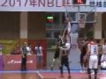 NBL视频-奥斯汀底线突破飞身暴扣 广西VS河南