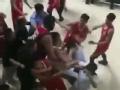 冲突!NBL爆发大规模群殴 重拳+脚踹场面混乱