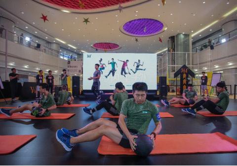 针对不同性别的专业训练课程令参与者们获得了最佳训练体验