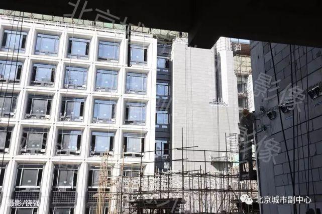 """雄伟!北京市政府新大楼开始揭开 """"面纱"""""""