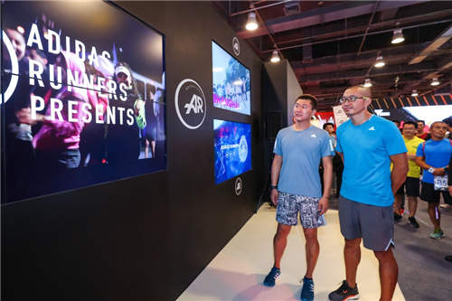 AR是阿迪达斯为跑者精心打造的跑步平台