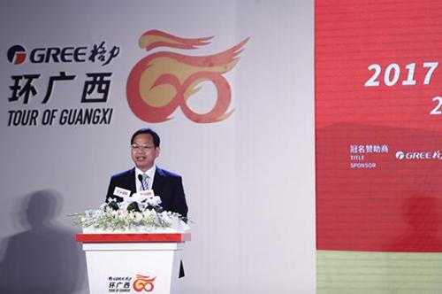 广西自治区政府副秘书长周光华