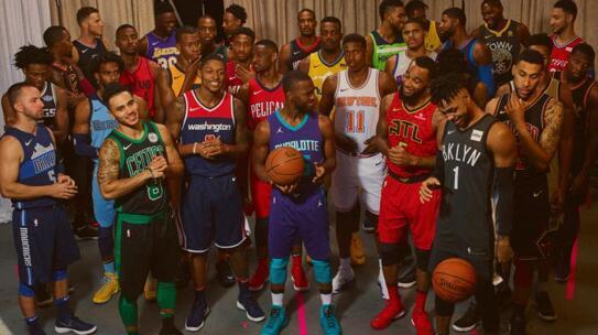 NBA主题版球衣发布 为关键场次或设定鲜明基调