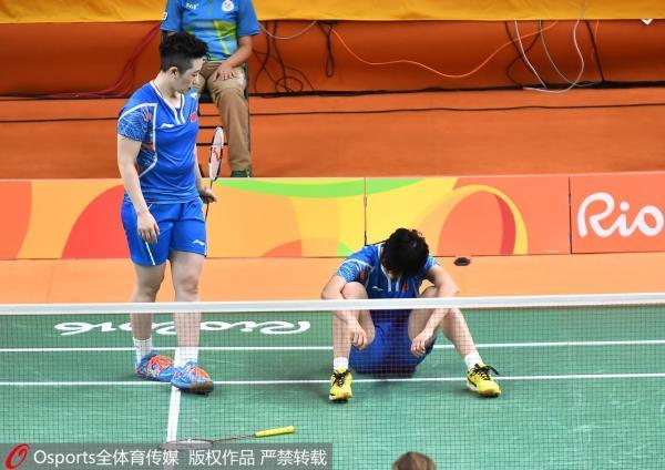 唐渊�s/于洋组合兵败里约奥运。