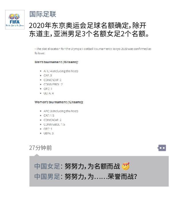 """由于东道主日本占去一个名额,东京奥运会男足名额比上届还少了0.5个,中国国奥队能否创造""""奇迹""""?"""