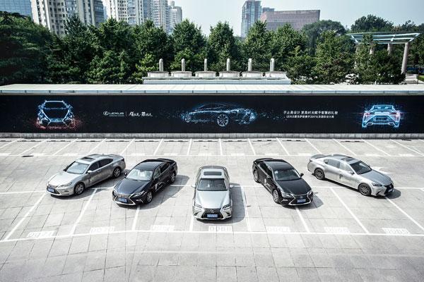 LEXUS雷克萨斯作为2017北京国际设计周官方指定用车