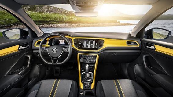 一汽 大众第一款SUV 大众T Roc小型SUV高清图片