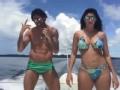 身材大赞!高拉特携妻子泳装出镜跳桑巴舞秀甜蜜