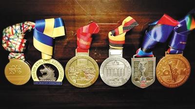 田同生的目标是拥有18块马拉松大满贯比赛奖牌。