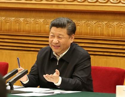 2016年4月19日,中共中央总书记、国家主席、中央军委主席、中央网络安全和信息化领导小组组长习近平在北京主持召开网络安全和信息化工作座谈会并发表重要讲话。新华社记者 马占成 摄