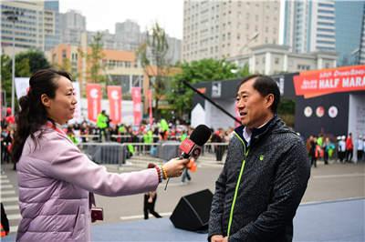 国家体育总局田径运动管理中心主任于洪臣接受采访