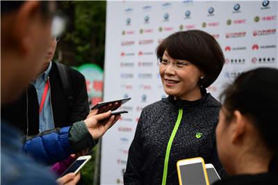 盈方中国总经理赵峰女士接受采访