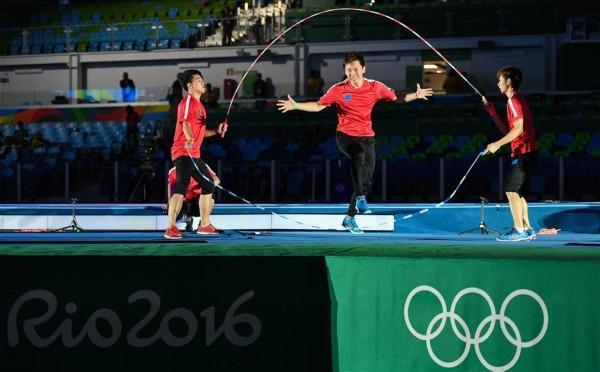 一根跳绳引来奥委会主席贺信 古老运动快速崛起