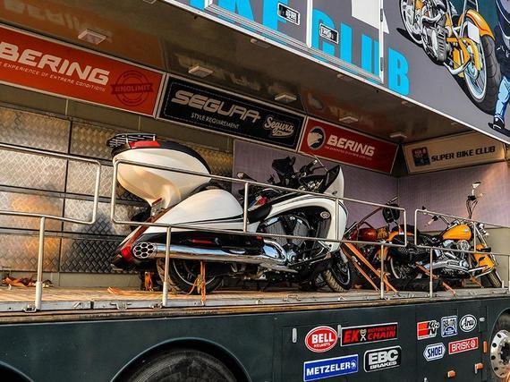 收藏级的摩托车让观众领略更纯粹的机车文化