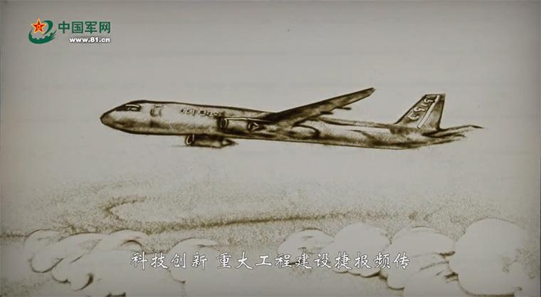 """科技创新、重大工程建设捷报频传。""""慧眼""""卫星遨游太空,C919大型客机飞上蓝天,量子计算机研制成功,海水稻进行测产,首艘国产航母下水,""""海翼""""号深海滑翔机完成深海观测,首次海域可燃冰试采成功,洋山四期自动化码头正式开港,港珠澳大桥主体工程全线贯通,复兴号奔驰在祖国广袤的大地上……我为中国人民迸发出来的创造伟力喝彩!"""