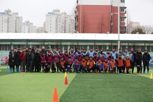 WEsport美国大学体育足球选秀营在上海成功举办