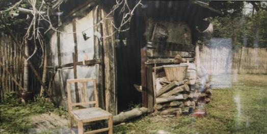 这是邓小平一家的柴房