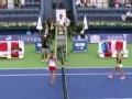 迪拜网球公开赛 科贝尔2-0淘汰普利斯科娃
